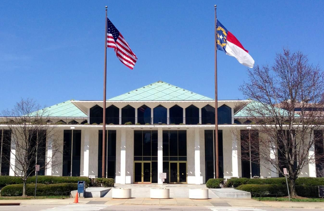 General Assembly building in Raleigh, N.C.